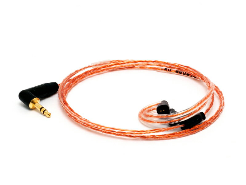 ZEPHONE(ゼフォン) EU-25(Orange Owl) for ULTIMATE EARS ULTIMATE EARS専用リケーブルtriple.fi 10 pro/5pro/SF3/TF15vm M-AUDIO IE40/IE30/IE10