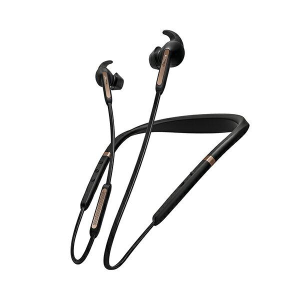 【国内正規品】 ノイズキャンセリング ワイヤレスイヤホン Bluetooth イヤフォン Jabra Elite 65e Copper Black 【100-99020001-40】【2年保証】 【送料無料】