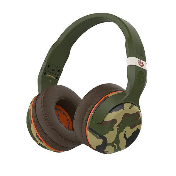 Skullcandy(スカルキャンディー) HESH 2 OVER-EAR WIRELESS CAMO/OLIVE/OLIVE【S6HBGY-367】スカルキャンディのBluetooth ブルートゥースワイヤレスヘッドホン(ヘッドフォン)【送料無料】