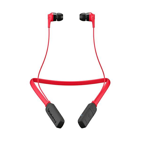 【ポイント10倍】 Skullcandy スカルキャンディー INK'D WIRELESS RED(レッド) 【S2IKW -J335】Bluetooth ブルートゥース 重低音 おしゃれ ワイヤレス イヤホン イヤフォン