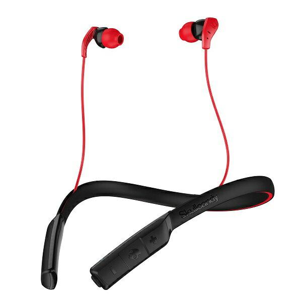 Skullcandy スカルキャンディー METHOD WIRELESS RED/BLACK 【S2CDW-K605】 Bluetooth ブルートゥース ワイヤレス イヤホン イヤフォン 【1年保証】