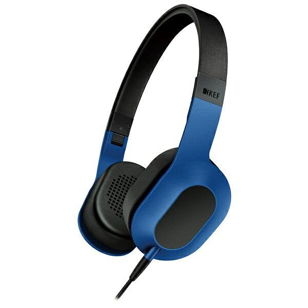 【お取り寄せ】 KEF(ケフ)M400 レーシングブルー【M400RB】 密閉型折り畳みヘッドホン ヘッドフォン【送料無料】 【1年保証】