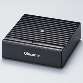 【お取り寄せ】 OLASONIC オラソニック NA-BTR1 B (ブラック) Bluetooth対応 LDAC aptX HD対応 ワイヤレスレシーバー 【送料無料】 【1年保証】