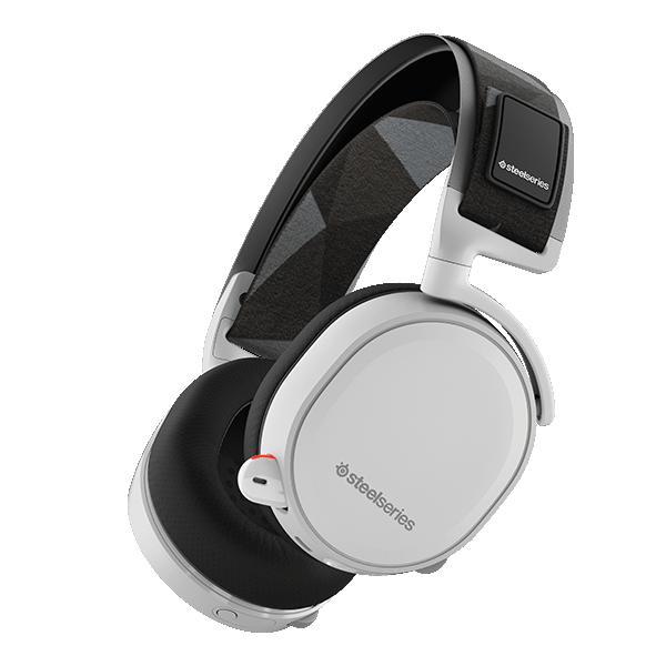 ゲーミングヘッドセット SteelSeries スティールシリーズ Arctis 7 White ホワイト 【送料無料】 PC/PS4/iPhone/スマートフォン対応