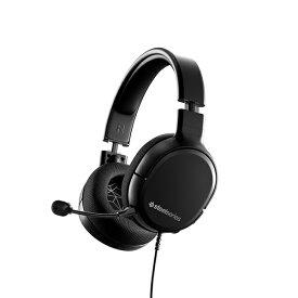ヘッドセット マイク付き ゲーミングヘッドセット SteelSeries スティールシリーズ SteelSeries Arctis 1 【送料無料】 PC PS4 iPhone スマートフォン 【1年保証】