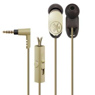 有支持雅马哈(雅马哈)EPH-R52(N)黄金智能手机的遥控的耳机(耳机)