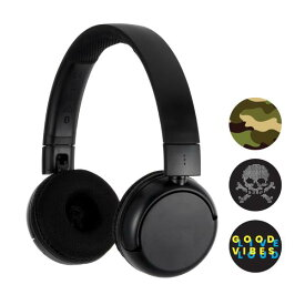 【在庫限り】Bluetooth ワイヤレスヘッドホン ONANOFF オナノフ BuddyPhones バディホン POP - BLACK 青年向き 【送料無料】