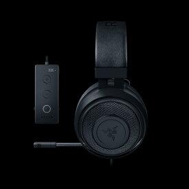 ゲーミングヘッドセット Razer レイザー Kraken Tournament Edition Black 【RZ04-02051000-R3M1 】 PC 対応 【2年保証】 【送料無料】