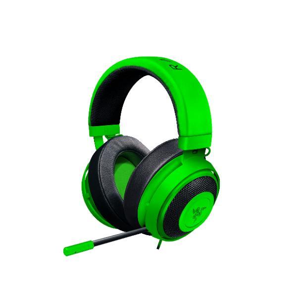 ゲーミングヘッドセット Razer レイザー Kraken Pro V2 Green Ova(RZ04-02050600-R3M1) PC/PS4/Xbox One対応