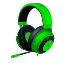 ゲーミングヘッドセット Razer レイザー Kraken Green 【RZ04-02830200-R3M1】 PC PS4 Xbox One対応 人気 ボイスチャット オンライン 【2年保証】【送