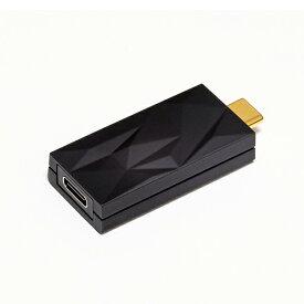 iFi-Audio iSilencer+ 【CC】 USB-C端子オス USB-C端子メス DAC搭載【送料無料】