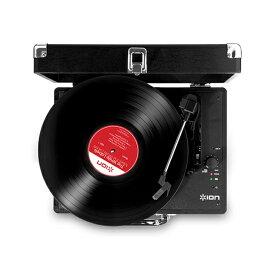 レコードプレーヤー ION アイオン VINYL MOTION -Portable Suitcase Turntable-ステレオスピーカー搭載 オールインワン・アナログ・レコードプレーヤー 【送料無料】