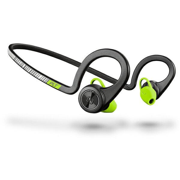 スポーツ向け Bluetooth ワイヤレス イヤホン Plantronics プラントロニクス BackBeat Fit New ブラック 【送料無料】