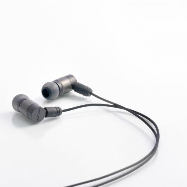 VECLOS ヴェクロス EPS-700 CSB コズミックブラック 高音質 カナル型 イヤホン イヤフォン 【送料無料】【1年保証】