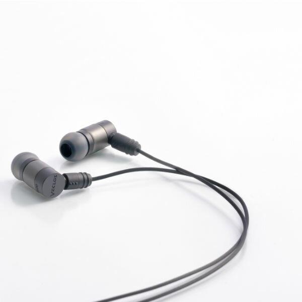 VECLOS ヴェクロス EPS-500 CSB コズミックブラック 高音質 カナル型 イヤホン イヤフォン 【送料無料】【1年保証】