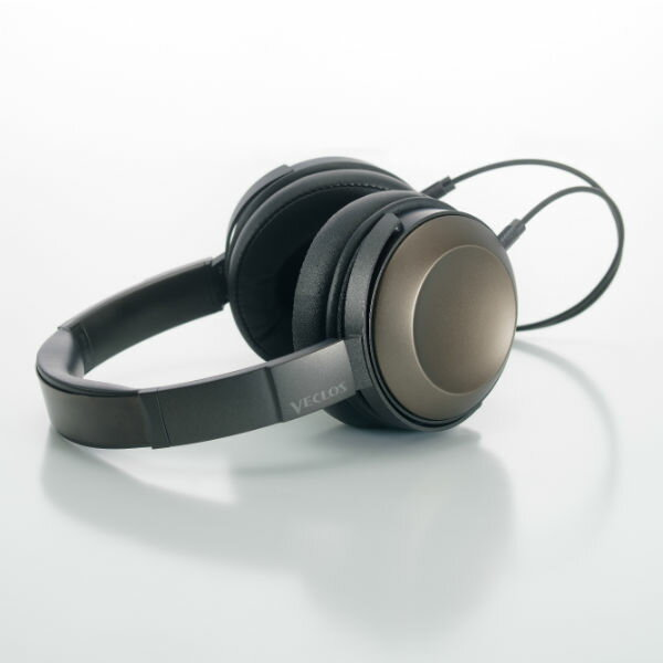 VECLOS ヴェクロス HPT-700 TG チタンゴールド 高音質 密閉型 ヘッドホン ヘッドフォン 【送料無料】【初回分完売・2次入荷分予約受付中】