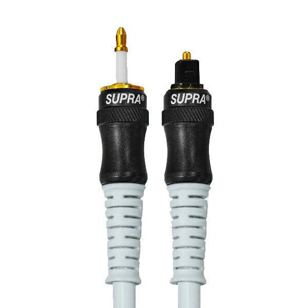 SUPRA スープラ ZAC MinTos 0.3m [角型TOSリンク-光ミニ端子] ポタアン用オプティカルケーブル【送料無料】