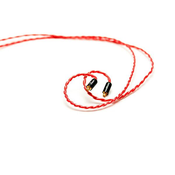 Beat Audio ビートオーディオ Vermilion MMCX - 4.4mm 【BEA-4451】MMCX / 4.4mm5極プラグ イヤホンリケーブル【送料無料】 【6ヶ月保証】