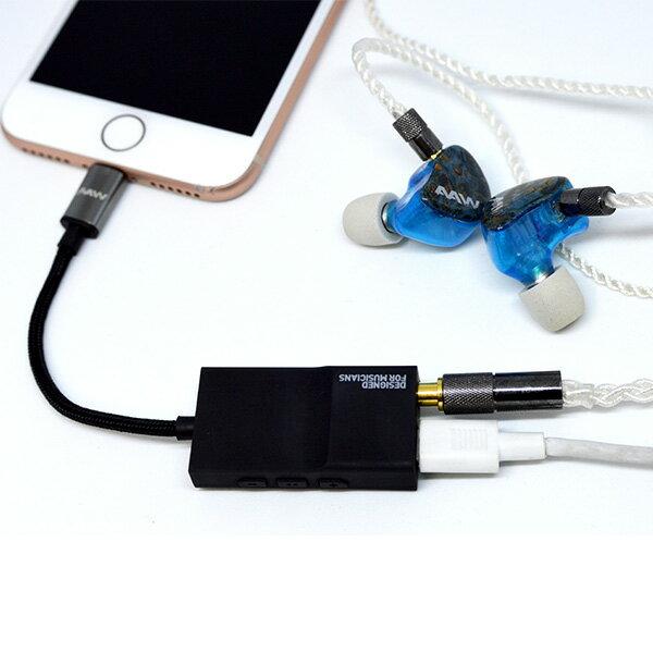 AAW ACCESSPORT MFI取得 ハイレゾ対応DAC iPhone、iPod用DAC 【1年保証】 【送料無料】