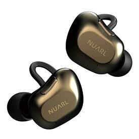 【8/1から使える●最大1500円クーポンあり】NUARL ヌアール NT01A-BG Black Gold Bluetooth 完全独立型 左右分離型 フルワイヤレスイヤホン【送料無料】