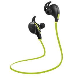 ワイヤレスイヤホン Bluetooth イヤホン TaoTronics TT-BH06 ブラック×グリーン マイク内蔵イヤホン Androidのハンズフリー通話におすすめ 【1年保証】