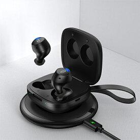 【新製品】 完全ワイヤレスイヤホン TaoTronics タオトロニクス Duo Free+ iPhone 通話 両耳 Bluetooth ブルートゥース 【1年保証】【送料無料】