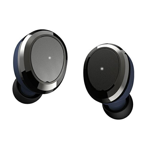 Bluetooth イヤホン 完全ワイヤレスイヤホン Dearear Oval NAVY 【DE-0103】 【送料無料】 トゥルーワイヤレス 両耳 左右分離型 フルワイヤレス Bluetooth イヤフォン 【1年保証】