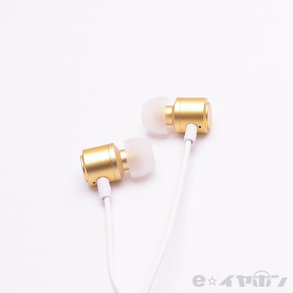 かわいい イヤホン ALPEX アルペックス HSE-A1000R GL 【ゴールド】 カナル型 イヤホン 【1年保証】