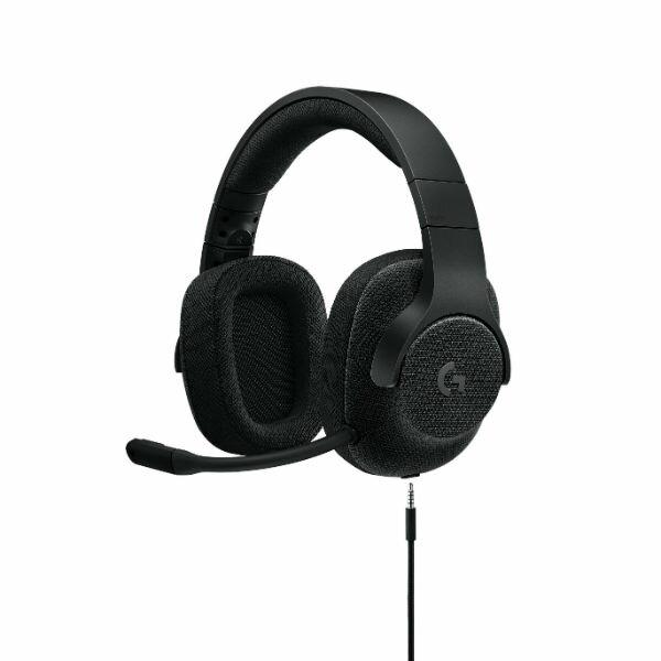 【ポイント10倍】 ゲーミングヘッドセット ロジクール G433 ブラック【送料無料】 7.1chサラウンド 高音質 ヘッドホン ヘッドフォン
