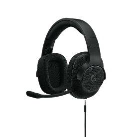 【在庫限り】ゲーミングヘッドセット ロジクール G433 ブラック【送料無料】 7.1chサラウンド PS4 PC ニンテンドーSwitch Xbox One 高音質 ヘッドホン ヘッドフォン 【2年保証】