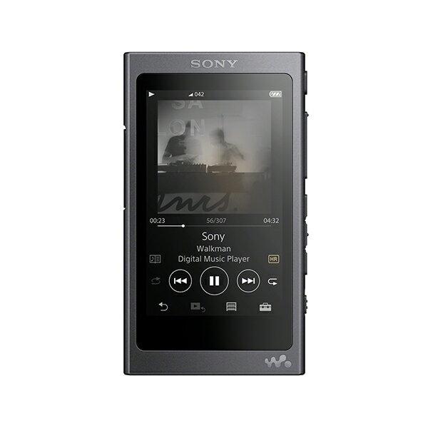 【在庫限り】SONY ソニー NW-A45 BM グレイッシュブラック ウォークマン 本体 Aシリーズ 16GB ハイレゾ対応 【送料無料】