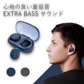 ワイヤレス イヤホン 完全ワイヤレス SONY ソニー WF-XB700 LZ ブルー Bluetooth ブルートゥース マイク付き 重低音 急速充電 フルワイヤレス 防水 IPX4 左右分離型 完全独立型 【送料無料】