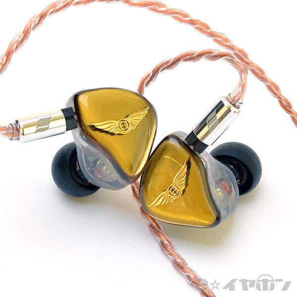 【6月上旬入荷予定】 EMPIRE EARS エンパイヤイヤーズ Legend X Japan Gold (Universal fit) 【送料無料(代引き不可)】 高音質 カナル型 イヤホン イヤフォン 【1年保証】