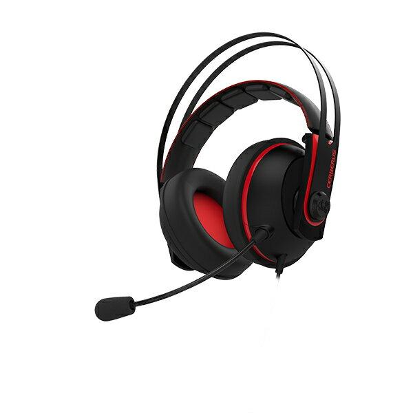 【ポイント5倍】 ゲーミングヘッドセット ASUS エイスース Cerberus V2 (RED) PS4 / PC 対応 【1年保証】 【送料無料】