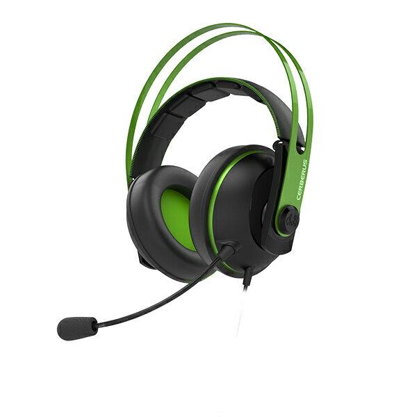 【ポイント5倍】 ゲーミングヘッドセット ASUS エイスース Cerberus V2 GREEN PS4 / PC 対応 【1年保証】 【送料無料】