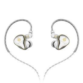 HIDIZS ヒディス MS4 Silver 【送料無料】 カナル型 イヤホン イヤフォン 【1年保証】