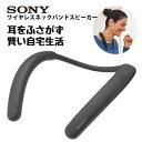 SONY ソニー SRS-NB10 HC チャコールグレー ワイヤレス スピーカー ウェアラブル 肩掛け Bluetooth 【送料無料】