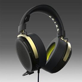 SHIDO SD-HS500B SHIDO:001 ヘッドセット ゲーミング マイク付き ヘッドホン PC PS4 有線 軽量 【送料無料】