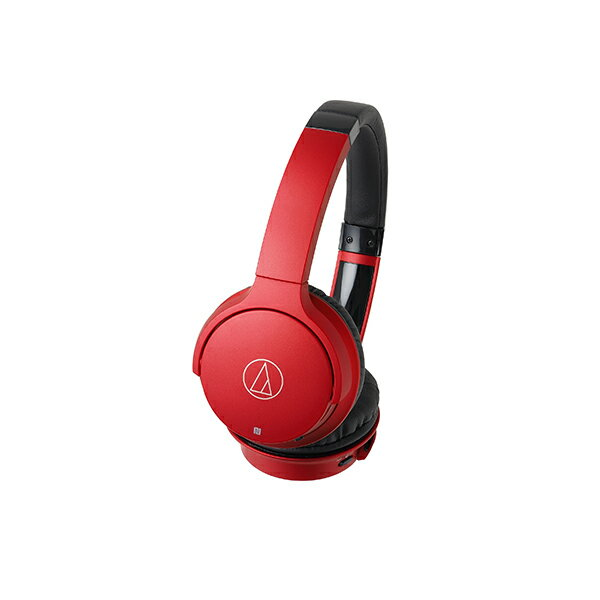 【ヘッドホン ワイヤレス】audio-technica(オーディオテクニカ) ATH-AR3BT RD(レッド) Bluetooth ブルートゥースワイヤレスヘッドホン(ヘッドフォン)