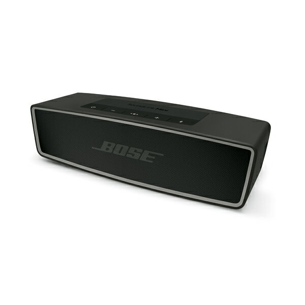 Bluetooth ブルートゥース ワイヤレス スピーカー BOSE(ボーズ) Slink Mini II CBN(カーボン) Soundlink mini2 【送料無料】スマートフォンなどとワイヤレス接続で大迫力の音楽を!
