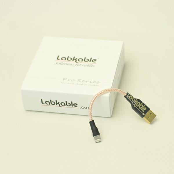 【お取り寄せ】 Labkable ラブケーブル Lightning-USBケーブル(4芯 HROCC 銅) iPhone iPod用Lightningケーブル ポタアン用ケーブル 【送料無料】 【1年保証】