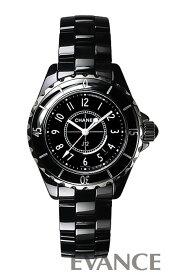 シャネル J12 H0682 ブラック レディース CHANEL 【新品】【腕時計】