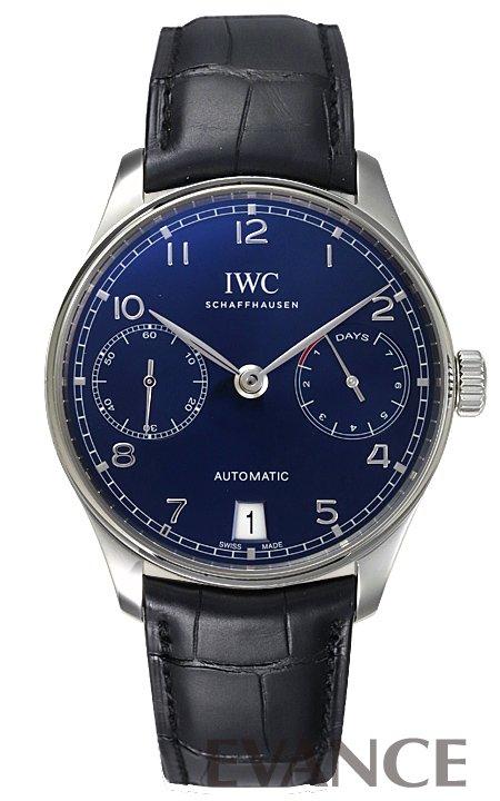 IWC ポルトギーゼ オートマティック IW500710 ブルー メンズ 【新品】【腕時計】