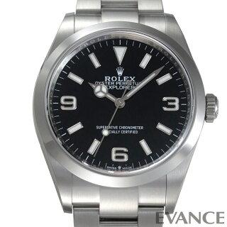 【新品】ロレックスエクスプローラーI124270メンズ【腕時計】
