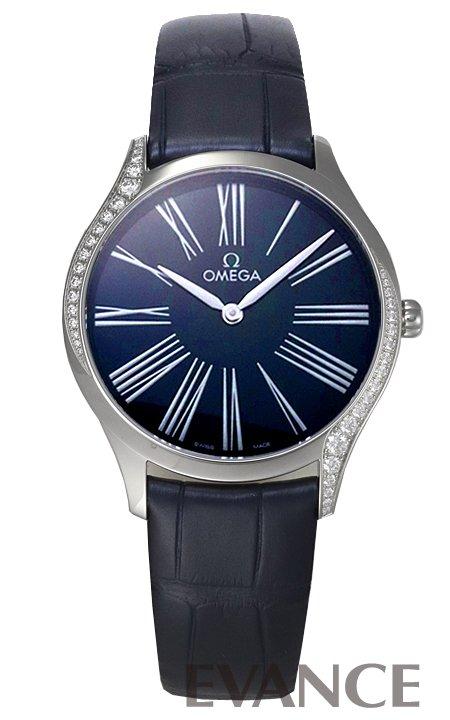 オメガ デ・ビル トレゾア 428.18.36.60.03.001 ブルー レディース OMEGA 【新品】【腕時計】