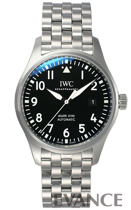 IWC パイロットウォッチ マークXVIII IW327015 ブラック メンズ 【新品】【腕時計】