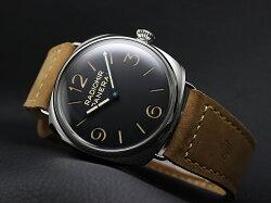 パネライラジオミール3デイズ500本限定PAM00720ブラックメンズPANERAI【新品】【腕時計】
