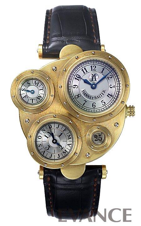 ヴィアネイ・ハルター アンティコア 98.7Y.115 シルバー メンズ VIANNEY HALTER 【中古】【腕時計】