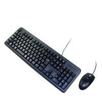 新品USBキーボード光学マウスセット【カラー:黒接続方式:USB】◆単品購入不可となります◆