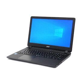 【お買い物マラソン 最大47倍 割引クーポン発行中】 中古 パソコン acer Aspire ES1-533-W14D/K ブラック A4 ノートパソコン 15.6インチ HDMI テンキー カメラ ac 無線LAN WPS Office付き Windows10 Home 【Celeron N3350/4GB/500GB/MULTI】